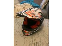 Motorcross childs helmet