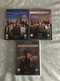 Downton Abbey Series 1,2 & Christmas Special.