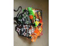 Nerf Gun - dart tag - boxed