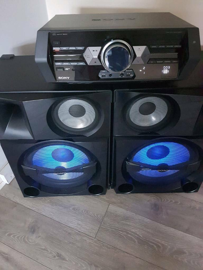 sony shake 5 home audio system in glasgow gumtree. Black Bedroom Furniture Sets. Home Design Ideas