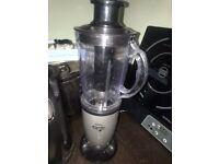 Blender, juicer, mixer, scale, induction hub