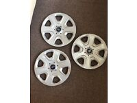 FORD WHEEL TRIMS **GOOD CONDITION**