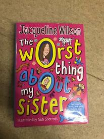 Jacqueline Wilson Hardback Books (7 Books). Great Condition