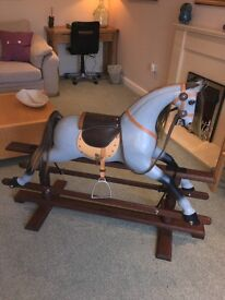 Beautiful Large Wooden Rocking Horse Price Reduced. Last Chance