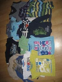 Selection of 12-18 boy clothes