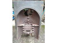 Cast Iron Original Fireplace/basket