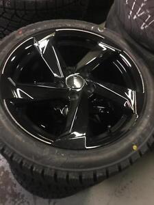 17 inch AUDI / VW Reps + 225 / 45 R17 Winter tires -- 5x112