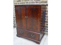 FREE DELIVERY Wooden TV Cabinet Vintage Furniture 101