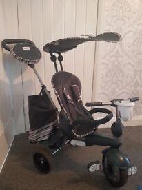 Grey Smart Trike