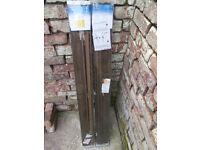 Venetian blinds (universal) - Dark wood effect W 120cm L 150cm NEVER USED
