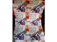 Marvel single bed set with fitted sheet