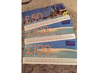 Classic collection holiday vouchers
