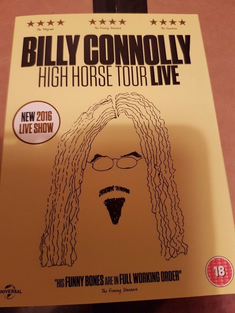 Billy Connolly High Horse Tour Live