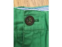 Boden Boys Green Trousers age 11 years