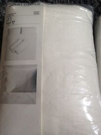 Ikea douvet set king size and sheet