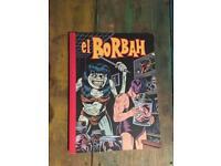El Borbah Charles Burns - Graphic Novel Comic