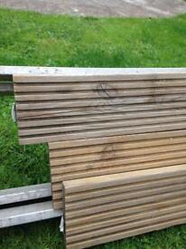 Decking small amount