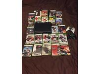 Xbox 360 120gb elite and lots of games