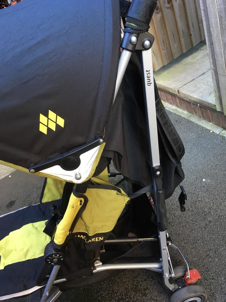 McLaren quest push chair