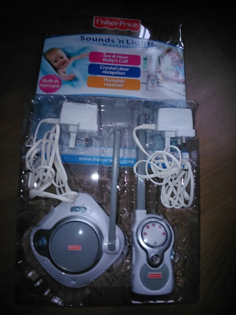 Fisher Price Sounds n light Monitor