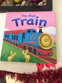 The blue train book