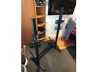 Squat / Bench rack - adjustable, no bench
