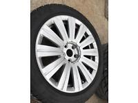 18 inch VW / SEAT / AUDI / BENTLEY ALLOY WHEELS