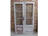 Vintage Double Glazed Doors - Unusual Design