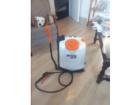 Stihl SG51 backpack weed sprayer. Excellent condition. Barely used.