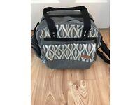 Grey Multi-functional Baby Changing Bag