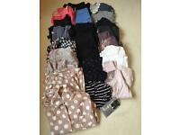 Maternity clothes bundle size 12-14 (includes 20 different items)