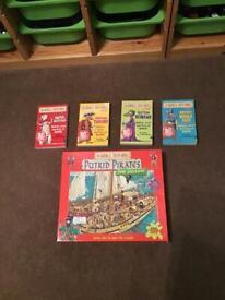 Horrible Histories Children's books and jigsaw