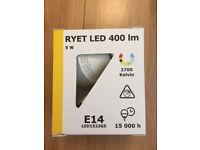 IKEA LED E14 bulb 5W boxed