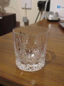 STAR OF EDINBURGH WHISKY GLASS - REDUCED
