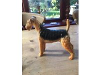 Beswick Airedale Terrier Figurine