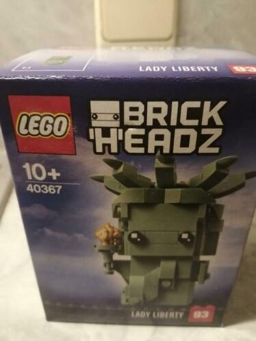 lego brickheads 40367,lady liberty