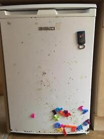 Beko Fridge - bit rusty up front by still in good full working order