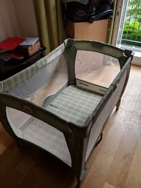 Music bed for babies Graco pack and play