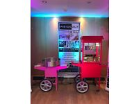 **Popcorn and Candy Floss Machine Hire**