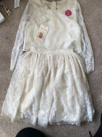 Flower girl dress 6 yrs