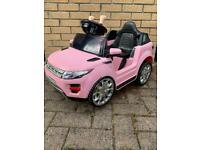 Kids Pink Electric Car