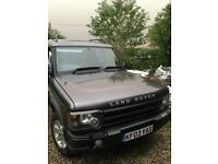 Land rover discovery (7 seater)