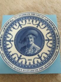 WEDGWOOD PLATE Queen Mother