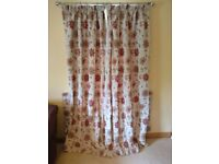 3 pairs of curtains