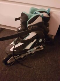 Roller blades. Good as new. Size 5 UK