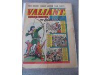 VALIANT 27th October 1962 Comic in Clip-on Glass Frame