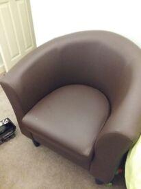 2 x tub chairs
