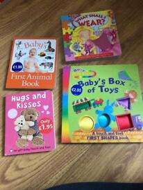 Children's touch and feel book bundle