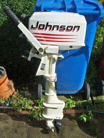 OUTBOARD JOHNSON 4HP TWO STROKE LONGSHAFT