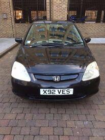 Honda Civic 2001 Hatchback 5 Dr £800